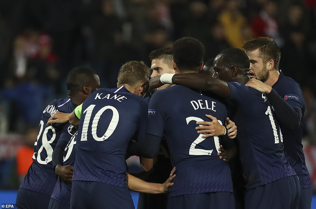 Sao Đỏ Belgrade 0-4 Tottenham: Son Heung Min lập cú đúp - Ảnh 2.
