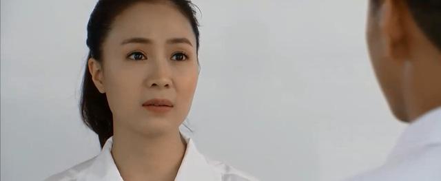 Hoa hồng trên ngực trái - Tập 28: San (Diệu Hương) ôm chặt mặt khóc khi dứt tình với chồng cũ  - Ảnh 6.