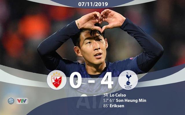 Kết quả UEFA Champions League rạng sáng 7/11: Real Madrid 6-0 Galatasaray, Sao đỏ Belgrade 0-4 Tottenham, Atalanta 1-1 Man City - Ảnh 4.