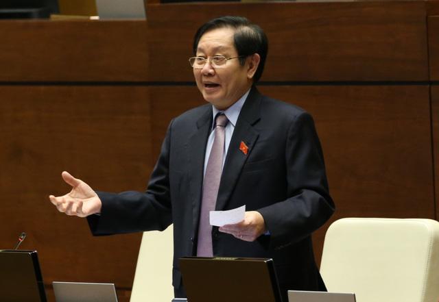 Toàn cảnh phiên chất vấn Bộ trưởng Bộ Công Thương Trần Tuấn Anh và Bộ trưởng Bộ Nội vụ Lê Vĩnh Tân - Ảnh 5.