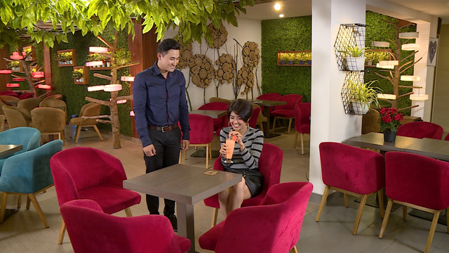 Đàm Phương Linh vừa tái xuất màn ảnh đã khiến Hà Trí Quang mê mẩn, yêu say đắm ngay cái nhìn đầu tiên - Ảnh 1.