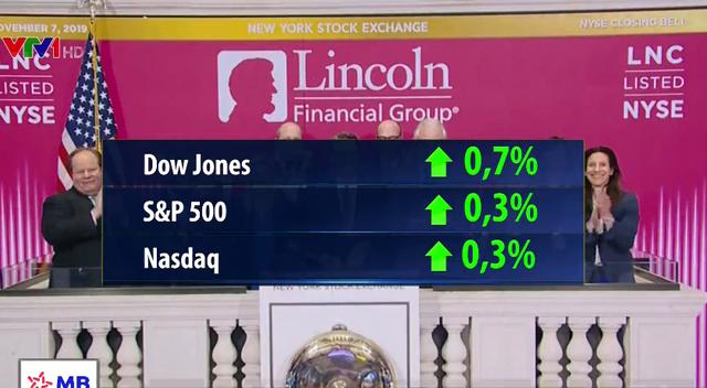 Thị trường Mỹ lập kỷ lục mới nhờ triển vọng thương mại Mỹ - Trung - Ảnh 1.