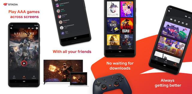 Google ra mắt ứng dụng Stadia trên Play Store ngày 19/11 - ảnh 1