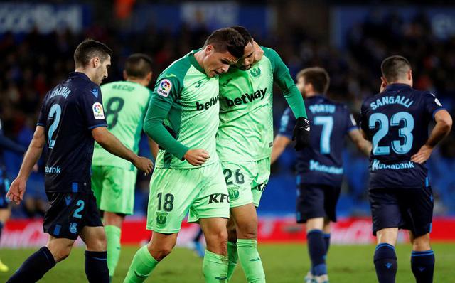 Kết quả bóng đá sáng 9/11: Norwich City 0-2 Watford, Real Sociedad 1-1 Leganes, Sassuolo 3-1 Bologna - Ảnh 4.