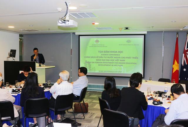Đầu tư nước ngoài cho phát triển giáo dục đại học: Cần có chính sách phù hợp với thực tiễn - Ảnh 1.