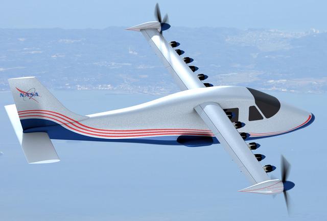 NASA phát triển máy bay chạy hoàn toàn bằng động cơ điện - Ảnh 2.