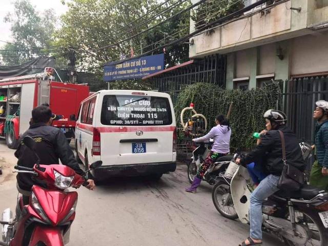 Cháy nhà ở Thịnh Liệt, 3 bà cháu tử vong thương tâm - Ảnh 3.