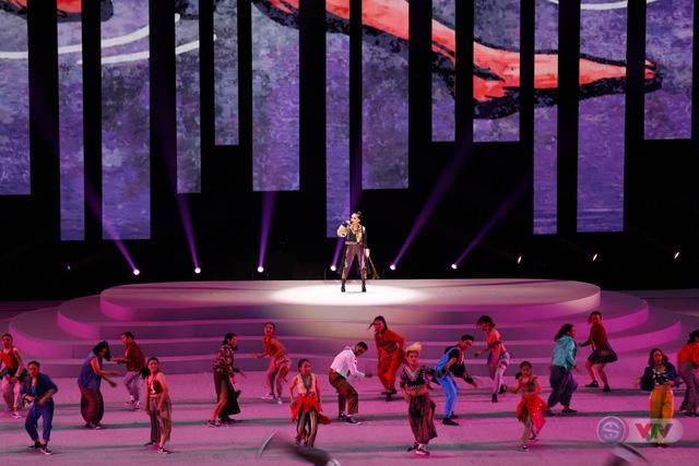 ẢNH: Lễ khai mạc SEA Games 30 đơn giản nhưng đậm màu sắc và giàu ý nghĩa - Ảnh 20.