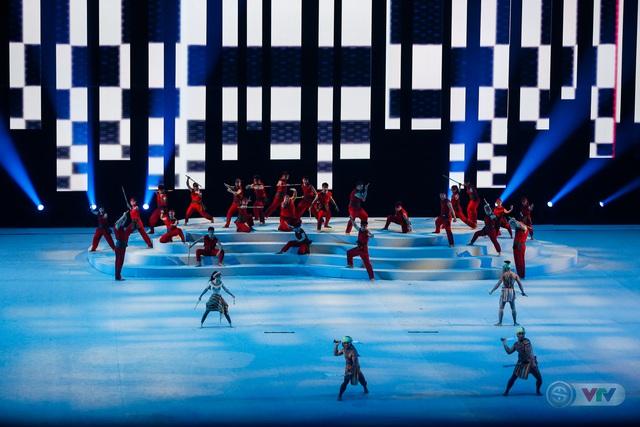 ẢNH: Lễ khai mạc SEA Games 30 đơn giản nhưng đậm màu sắc và giàu ý nghĩa - Ảnh 19.