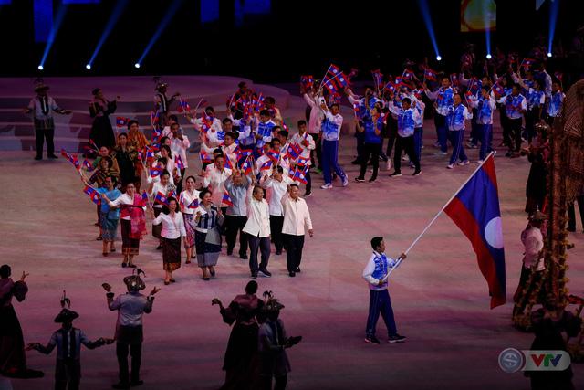ẢNH: Lễ khai mạc SEA Games 30 đơn giản nhưng đậm màu sắc và giàu ý nghĩa - Ảnh 5.