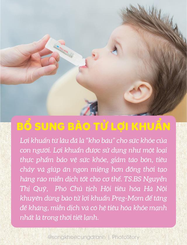 10 thực phẩm không thể thiếu giúp bé phòng bệnh trong mùa đông - Ảnh 3.