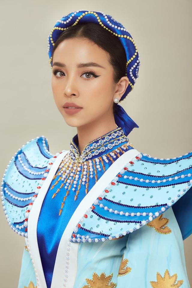 Chính thức công bố quốc phục của Á hậu Thúy An tại Miss Intercontinental 2019 - Ảnh 1.