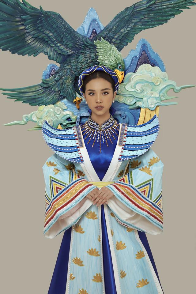 Chính thức công bố quốc phục của Á hậu Thúy An tại Miss Intercontinental 2019 - Ảnh 3.