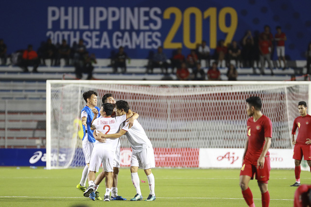 Những hình ảnh không thể nào quên trong lần đầu tiên bóng đá nam Việt Nam lên đỉnh SEA Games - Ảnh 5.