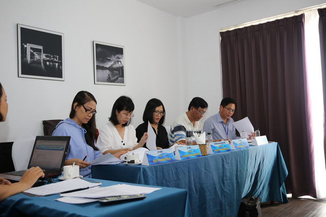 Ban giám khảo Chương trình dành cho thiếu nhi dần hoàn tất công tác chấm thi tại LHTHTQ lần thứ 39 - Ảnh 1.