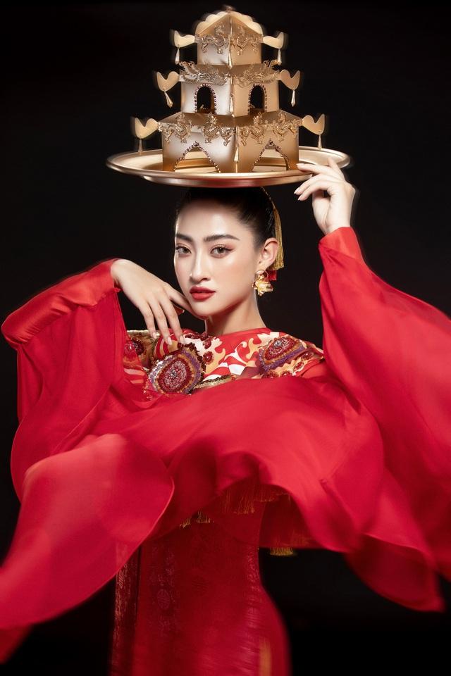Hoa hậu Lương Thùy Linh mang điệu múa mâm đến Miss World 2019 - Ảnh 5.