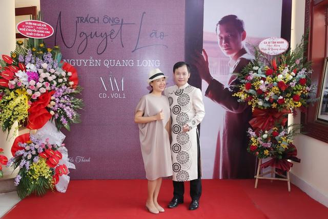 Nghệ sĩ hát xẩm Nguyễn Quang Long bất ngờ ra album sau 20 năm ca hát - Ảnh 1.