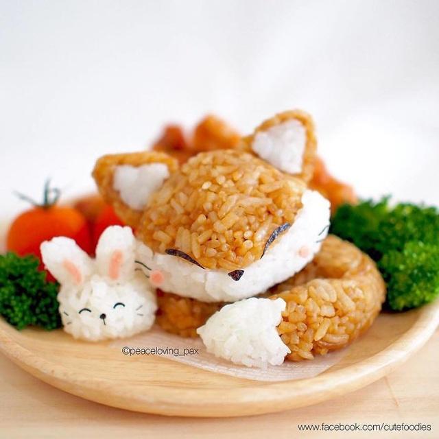 Những đĩa cơm bento hấp dẫn giúp trẻ bớt biếng ăn - Ảnh 24.