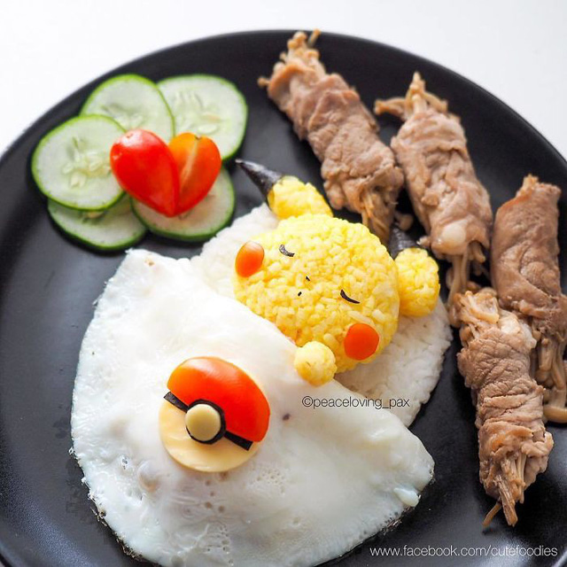 Những đĩa cơm bento hấp dẫn giúp trẻ bớt biếng ăn - ảnh 22