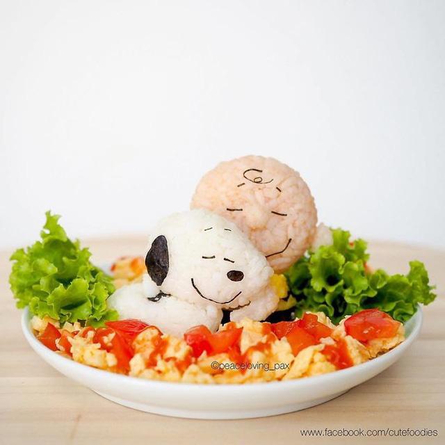 Những đĩa cơm bento hấp dẫn giúp trẻ bớt biếng ăn - Ảnh 18.