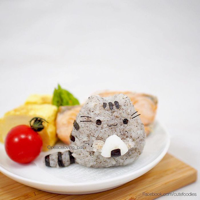 Những đĩa cơm bento hấp dẫn giúp trẻ bớt biếng ăn - ảnh 15