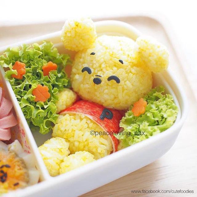 Những đĩa cơm bento hấp dẫn giúp trẻ bớt biếng ăn - Ảnh 8.