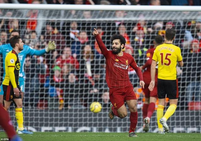 Vòng 17 Ngoại hạng Anh: Thắng nhàn Watford, Liverpool nối dài mạch bất bại - Ảnh 2.