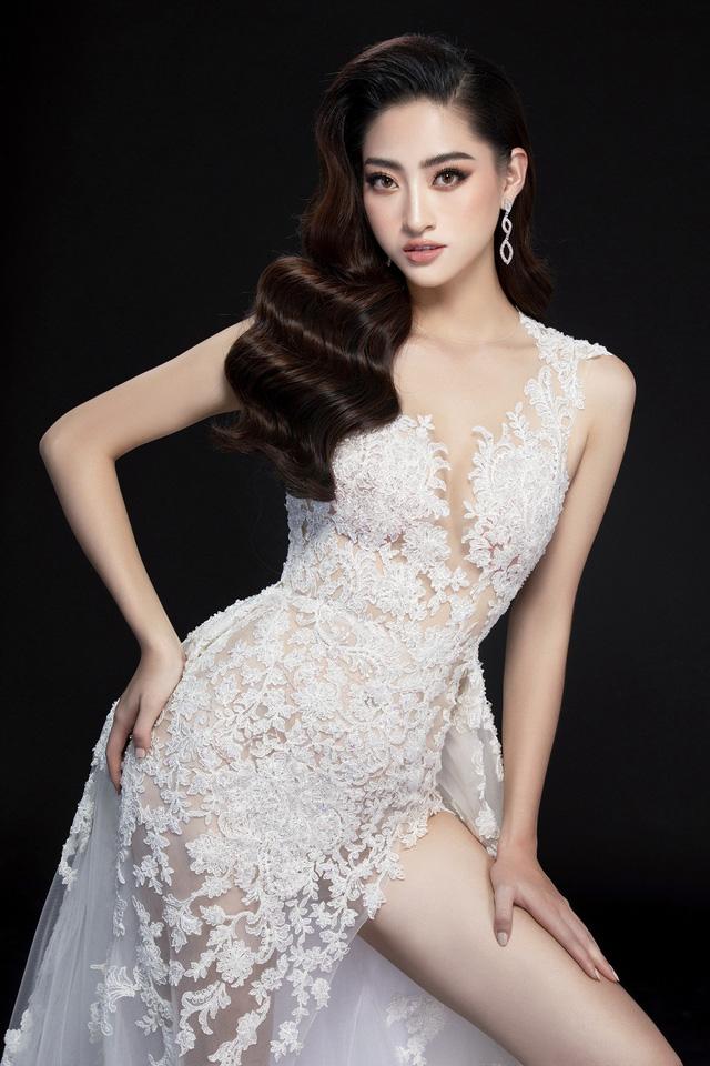 Hé lộ đầm dạ hội của Lương Thùy Linh trước giờ G chung kết Miss World 2019 - Ảnh 8.