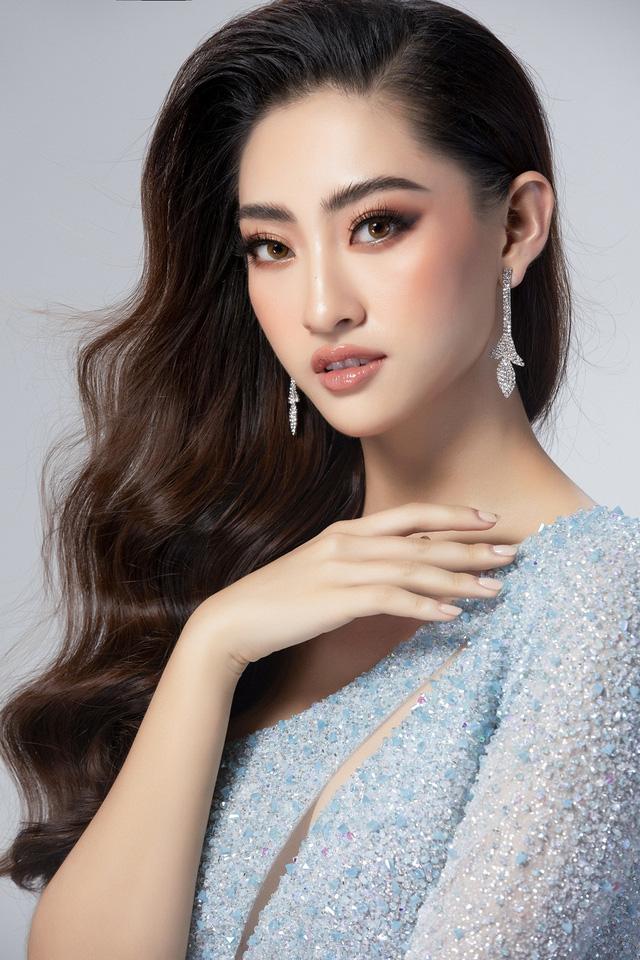Hé lộ đầm dạ hội của Lương Thùy Linh trước giờ G chung kết Miss World 2019 - Ảnh 3.