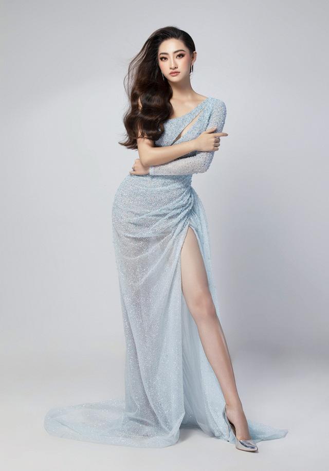 Hé lộ đầm dạ hội của Lương Thùy Linh trước giờ G chung kết Miss World 2019 - Ảnh 9.