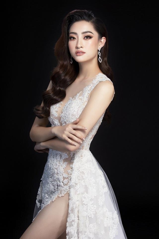 Hé lộ đầm dạ hội của Lương Thùy Linh trước giờ G chung kết Miss World 2019 - Ảnh 5.