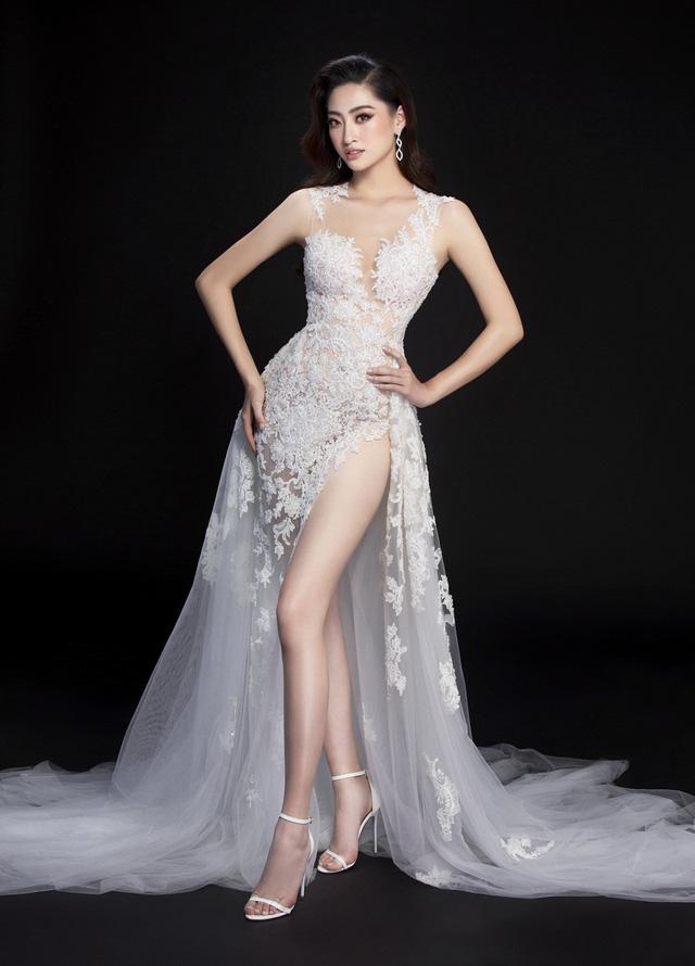 Hé lộ đầm dạ hội của Lương Thùy Linh trước giờ G chung kết Miss World 2019 - Ảnh 6.