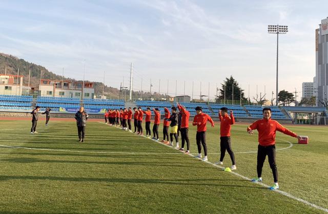ĐT U23 Việt Nam bước vào buổi tập đầu tiên tại Hàn Quốc - Ảnh 3.
