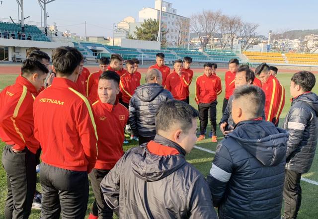 ĐT U23 Việt Nam bước vào buổi tập đầu tiên tại Hàn Quốc - Ảnh 5.