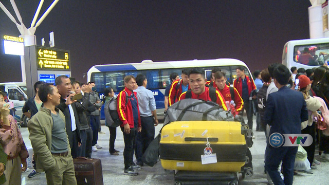 U23 Việt Nam lên đường sang Hàn Quốc tập huấn - Ảnh 1.