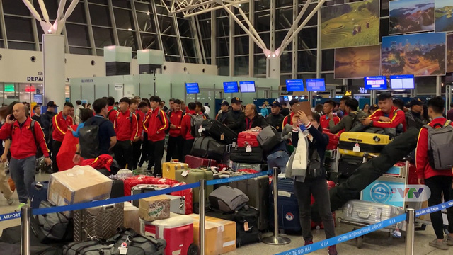 U23 Việt Nam lên đường sang Hàn Quốc tập huấn - Ảnh 4.