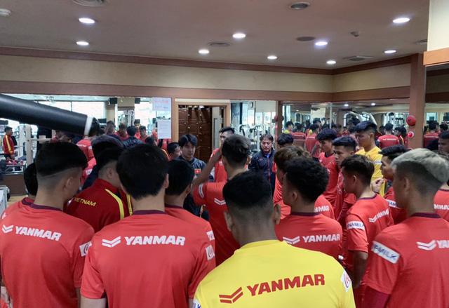 ĐT U23 Việt Nam tập huấn tại Hàn Quốc: Tập trung rèn thể lực và ôn đấu pháp - Ảnh 4.