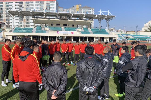 ĐT U23 Việt Nam tập huấn tại Hàn Quốc: Tập trung rèn thể lực và ôn đấu pháp - Ảnh 1.