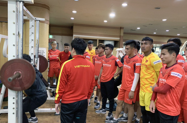 ĐT U23 Việt Nam tập huấn tại Hàn Quốc: Tập trung rèn thể lực và ôn đấu pháp - Ảnh 7.