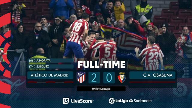 Kết quả, bảng xếp hạng vòng 17 VĐQG Tây Ban Nha La Liga: Real Sociedad 2-2 Barcelona, Atletico Madrid 2-0 Osasuna - Ảnh 4.