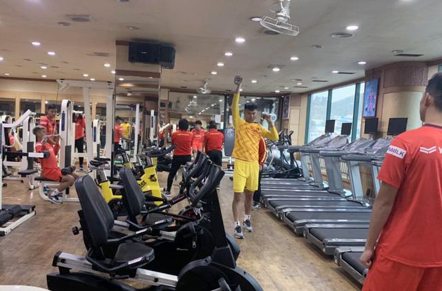 ĐT U23 Việt Nam tập huấn tại Hàn Quốc: Tập trung rèn thể lực và ôn đấu pháp - Ảnh 5.