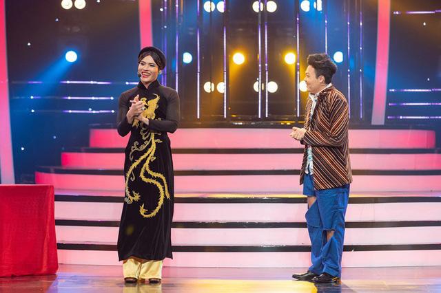 Gương mặt thân quen 2019: Giả Hoài Linh, thí sinh như cá gặp nước khiến giám khảo kinh ngạc - Ảnh 1.