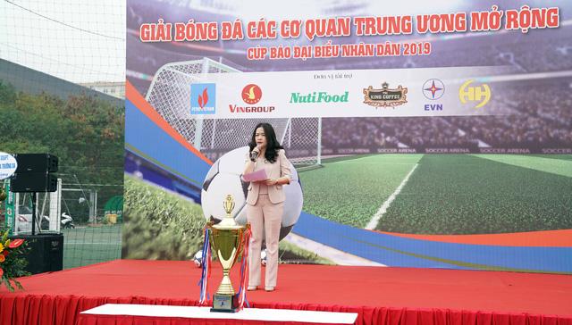 Khai mạc Giải Bóng đá các cơ quan Trung ương mở rộng - Cúp báo Đại biểu Nhân dân - Ảnh 2.