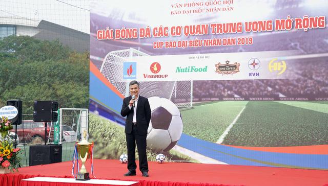 Khai mạc Giải Bóng đá các cơ quan Trung ương mở rộng - Cúp báo Đại biểu Nhân dân - Ảnh 3.