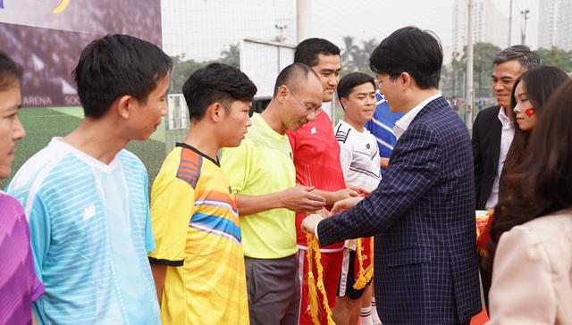 Khai mạc Giải Bóng đá các cơ quan Trung ương mở rộng - Cúp báo Đại biểu Nhân dân - Ảnh 6.
