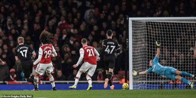 Arsenal 0-3 Man City: Màn trình diễn siêu hạng của De Bruyne - Ảnh 2.