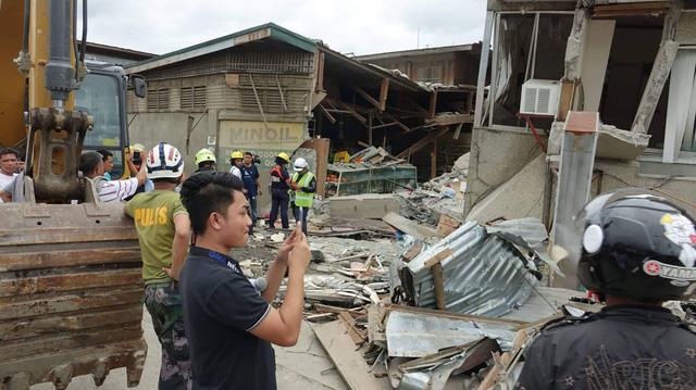 Gia tăng thương vong trong động đất tại Philippines - Ảnh 1.