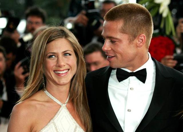 Brad Pitt dự tiệc sinh nhật của vợ cũ - Ảnh 1.