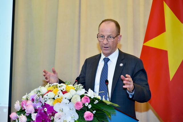 Công bố biểu tượng kỷ niệm 25 năm thiết lập quan hệ ngoại giao Việt Nam - Hoa Kỳ - Ảnh 5.