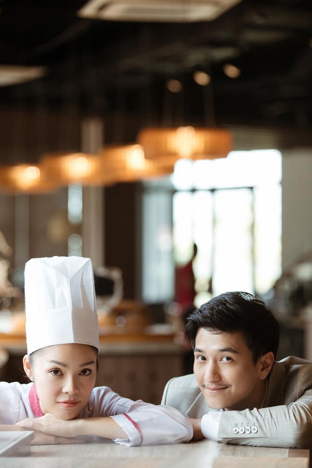 Bị chê quá lệch tuổi với Huỳnh Anh trong Tiệm ăn dì ghẻ, Dương Cẩm Lynh nói gì? - Ảnh 5.